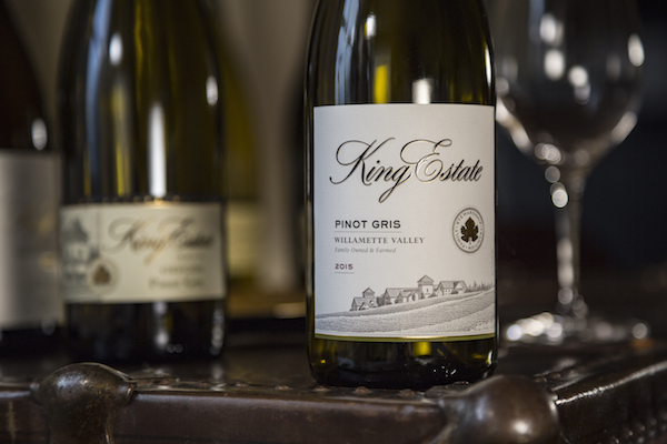 King Estate is now in the Willamette Valley of Oregon.