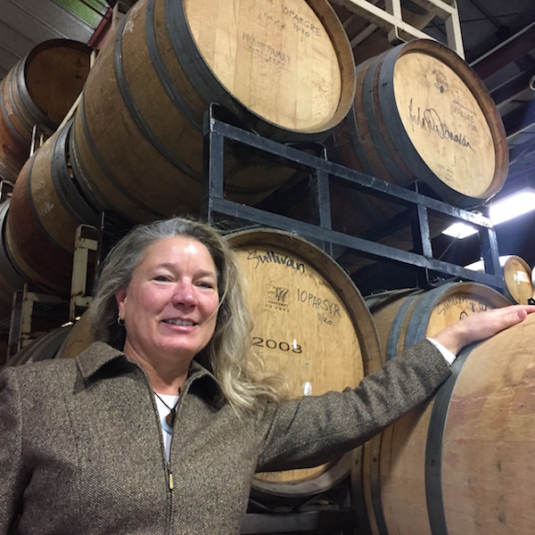 Linda Donovan has been making wine in Oregon since 2000, and she launched Pallet Wine Co., in downtown Medford in 2009.