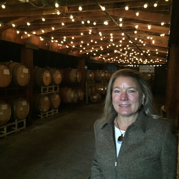 Linda Donovan crushed the equivalent of 32,000 cases of wine from the 2015 vintage at Pallet Wine Co., in Medford, Ore., but she will bottle about 45,000 cases for her custom-crush clients throughout the state.