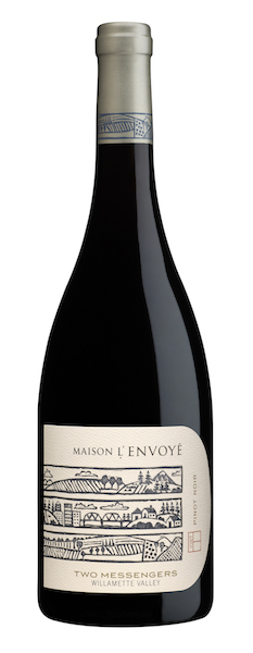 Maison L'Envoye Two Messengers Pinot Noir NV bottle