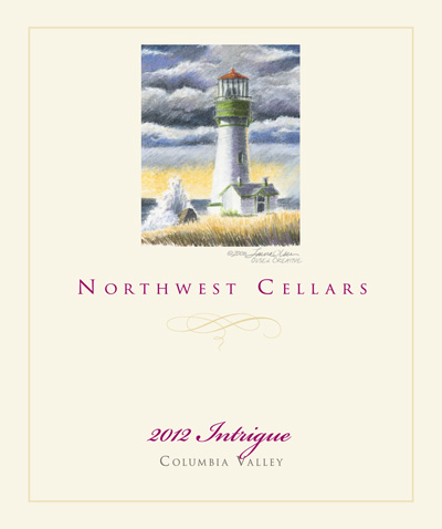 northwest-cellars-intrigue-red-wine-2012-label