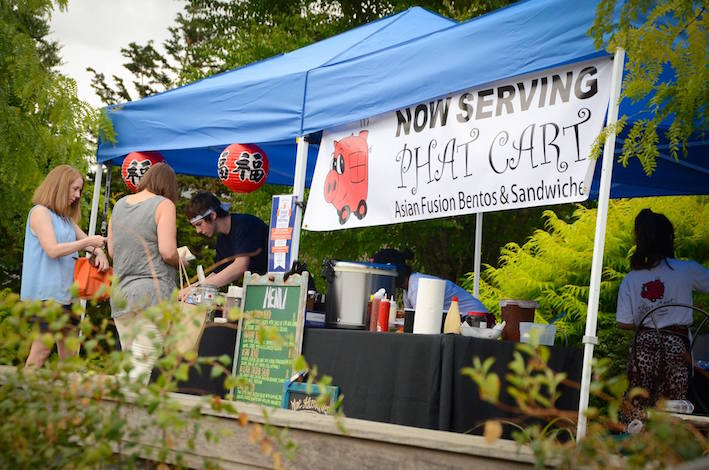 Award-winning Phat Cart will return to WillaKenzie Estate during Memorial Day weekend to help the Yamhill, Ore., winery open the second season of its Food Truck Weekends. (Photo courtesy of WillaKenzie Estate)