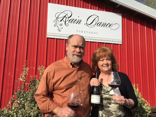 Ken Austin, III, and Celia Austin launched the wine program at Rain Dance Vineyards in Newberg, Ore., last May with their 2013 Estate Pinot Noir.