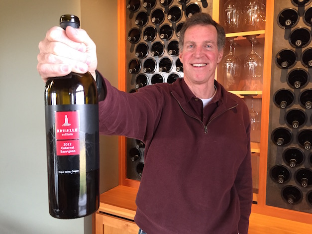 Scott Steingraber, owns and makes the wines at Kriselle Cellars in White City, Ore. Steingraber named the winery for his wife, whose name is Krisell.