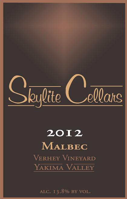 Skylite Cellars 2012 Verhey Vineyard Malbec