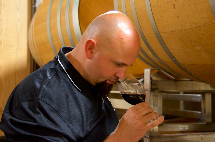 Colorado native Tim Donahue joined the College Cellars program as a winemaking instructor in 2010. (Photo courtesy of Walla Walla Community College).