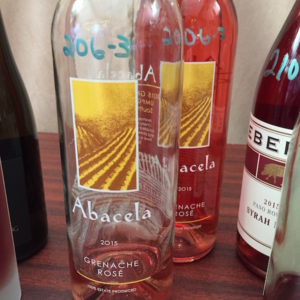 The Abacela 2015 Estate Grenache Rosé brings more honor to Earl and Hilda Jones' storied Umpqua Valley winery in Roseburg, Ore., with its showing in Southern California at the 2016 Pacific Rim International Wine Competition.