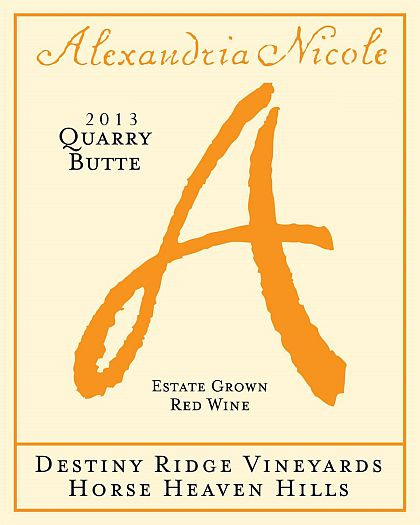 alexandria-nicole-cellars-destiny-ridge-vineyards-quarry-butte-estate-red-wine-2013-label