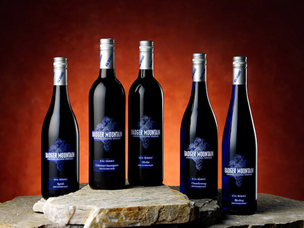 Badger Mountain Vineyard wines are made with organically grown grapes and without sulfites added. (Photo courtesy of Powers Winery)