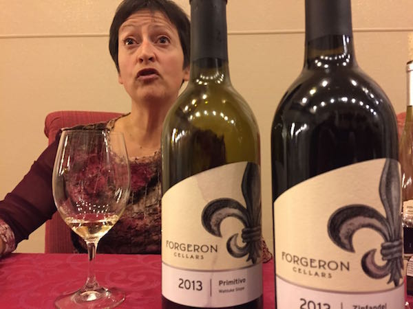 Marie-Eve Gilla of Forgeron Cellars in Walla Walla.
