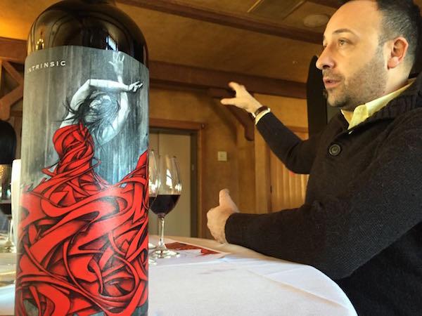 Juan Muñoz Oca is the head winemaker for Intrinsic.