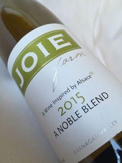 joie noble blend - Noble uses 'juicidity' as key ingredient at JoieFarm