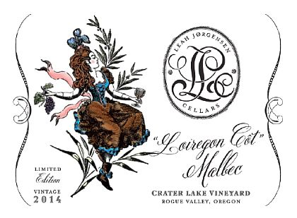 leah-jørgensen-cellars-crater-lake-vineyard-loiregon-côt-malbec-2014-label