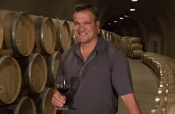 Marcus Notaro is head winemaker for Stag's Leap Wine Cellars.
