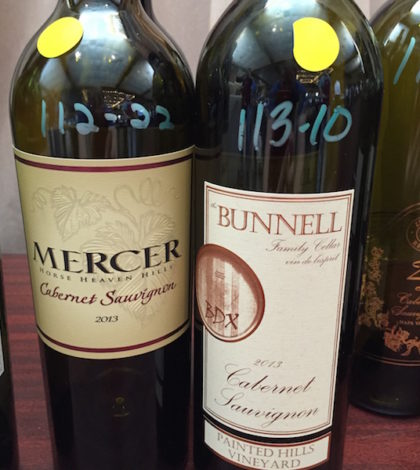 Mercer Estates and Bunnell Family Cellar, both in Prosser, Wash., produced two of the top Cabernet Sauvignons at the 2016 Pacific Rim International Wine Competition in San Bernardino, Calif.