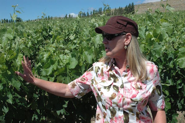 Mimi Nye of Canoe Ridge Estate Vineyard