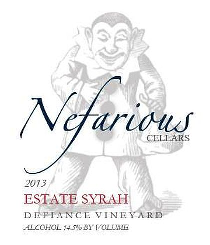 nefarious-cellars-defiance-vineyard-syrah-2013-label