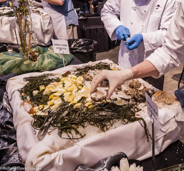 Oysters at Taste Washington