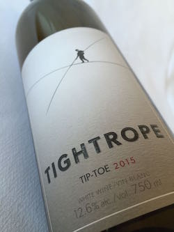 tightrope tip-toe
