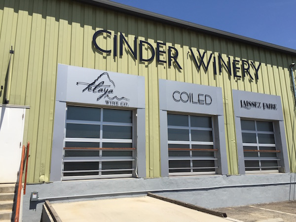 Cinder Wines, Coiled Wines and Telaya Wine Co., formed the 44th Street Wineries in Garden City, Idaho, through the 2015 harvest.