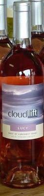 cloudlift cellars lucy rose cabernet franc 2014 bottle - 8 Northwest rosés ideal for Thanksgiving