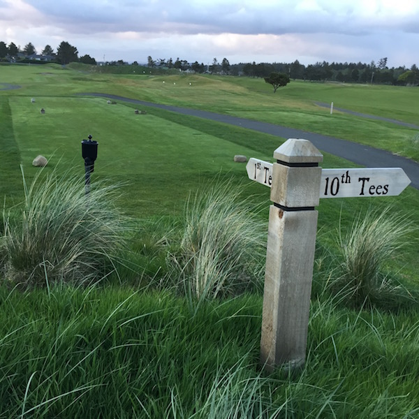 The recent remodel of Gearhart Golf Links on the Oregon Coast included the removal of more than 400 trees. (Photo by Eric Degerman/Great Northwest Wine)