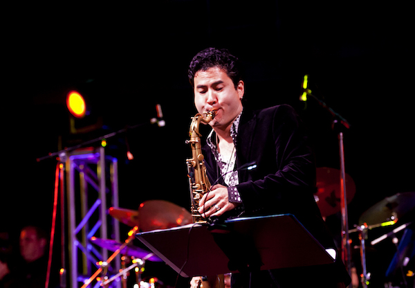 Seattle saxophonist Jeff Kashiwa is the headliner for the second annual Wine and Jazz Festival on June 25, 2016 at Washington State University Tri-Cities campus in Richland.