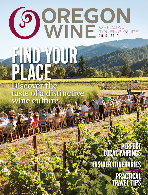 The 2016 Oregon Wine Touring Guide is a joint publication of the Oregon Wine Board and SagaCity Media.