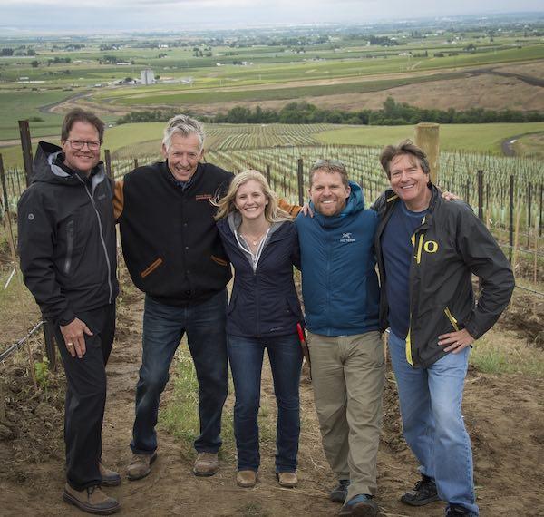 Pambrun vineyard in SeVein in Walla Walla Valley.