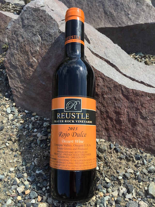 The Reustle-Prayer Rock Vineyards 2013 Rojo Dulce, a Port-style bottling made from Tinta Roriz, was chosen the best dessert wine at the 2013 Dan Berger International Wine Competition.