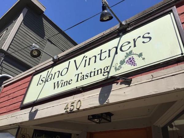 Amelia Wynn Winery's tasting room is in downtown Bainbridge Island.