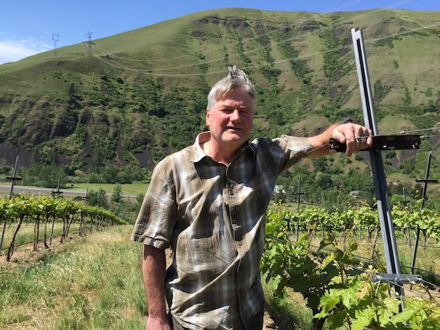 Mike Pearson's weather station at his vineyard in Juliaetta, Idaho, recorded 3,400 growing degree days during the 2015 vintage - a total similar to those recorded by Washington State University in the Rattlesnake Hills and Walla Walla Valley.