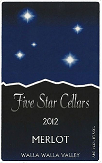 five-star-cellars-merlot-2012-label