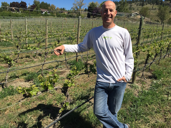 Tightrope Winery co-owner Graham O'Rourke, a native of Ontario, worked two years in the New Zealand wine industry before spending six years as a viticulturist at Mission Hill Family Estate.