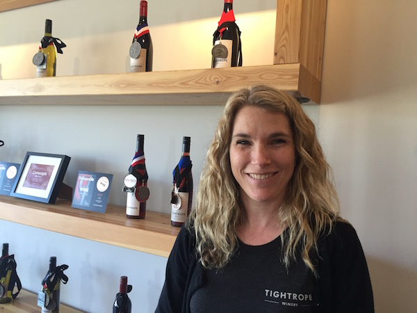 Tightrope winemaker Lyndsay O'Rourke has garnered 11 gold medals in the past two years at the Cascadia Wine Competition in Hood River, Ore.