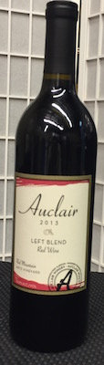 auclair-winery-artz-vineyard-left-blend-red-wine-2013-bottle