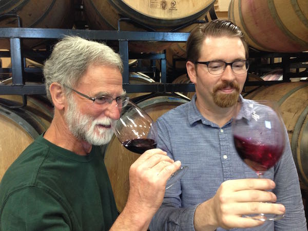 Bob Betz and Louis Skinner of Betz Family Winery.