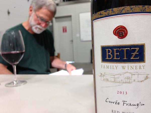 Bob Betz is the founding winemaker for Betz Family Winery in Woodinville, Wash.