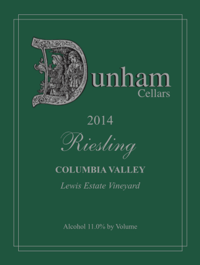 dunham-cellars-lewis-vineyard-estate-riesling-2014-label