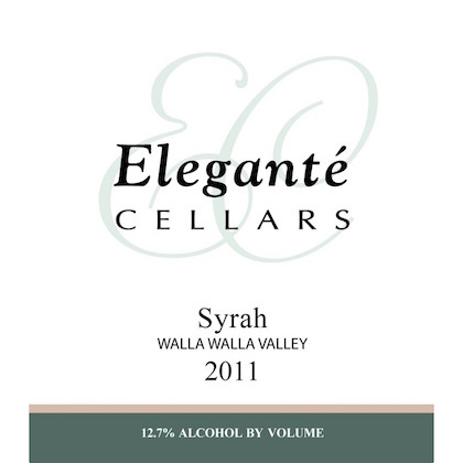 elegante-cellars-syrah-2011-label