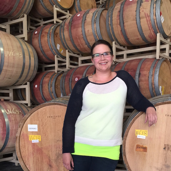 Emily Haines, 33, has been promoted to head winemaker at Milbrandt Vineyards.