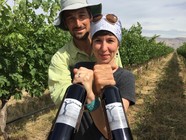 Karl and Coco Umiker, the husband/wife team at Clearwater Canyon Cellars in Lewiston, Idaho, earned a double gold medal and merited 97 points for their 2013 Selway Red Wine from the prestigious 2016 San Francisco International Wine Competition. Karl is the viticulturist and Coco is the winemaker for the decade-old winery in the new Lewis-Clark Valley American Viticultural Area.