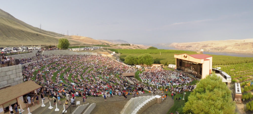 Maryhill Winery's 4,000-seat amphitheater has featured recording artists such as John Legend and Counting Crows to Willie Nelson, Earth, Wind & Fire and Bob Dylan. The lineup is typically announced in April each year, with tickets going on sale in May.