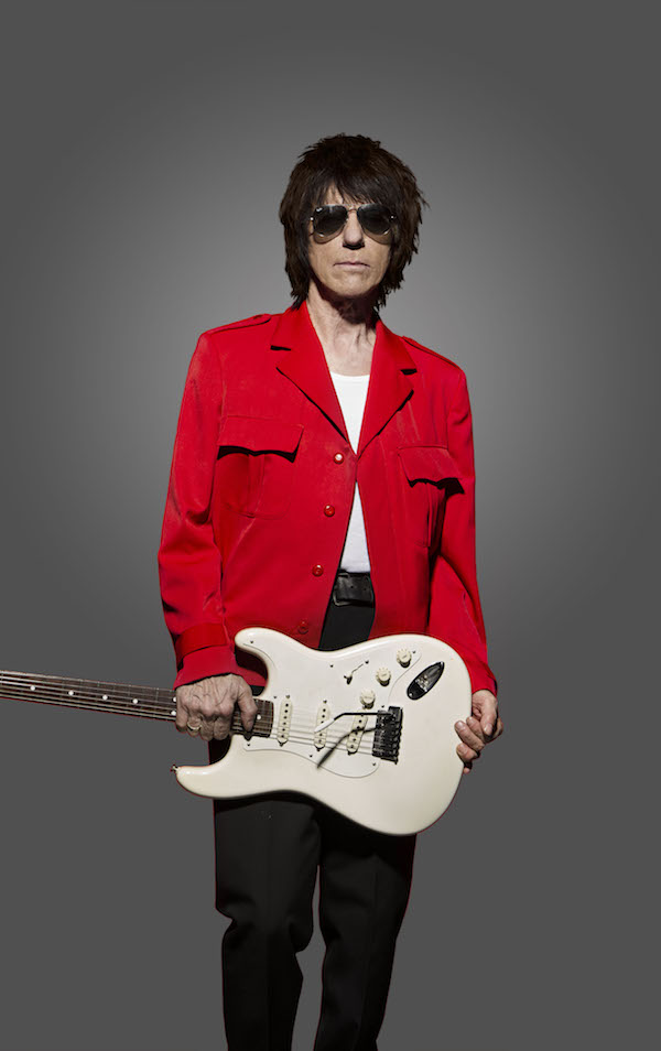 British guitar great Jeff Beck will perform Saturday, Aug. 20 at Maryhill Winery near Goldendale, Wash. Tickets for this evening, which also features blues man Buddy Guy, range from $55 to $250. (Photo courtesy of Maryhill Winery)