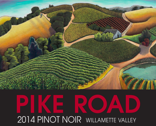 The Campbell family launched Pike Road Wines this spring with a $19 Pinot Noir from the Willamette Valley.