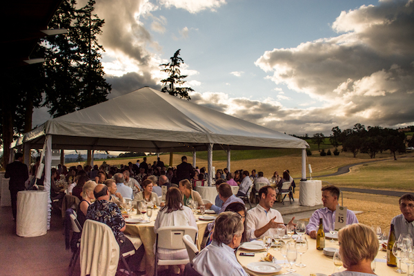 The fourth annual Summertime ¡Salud! - The Big Dinner at Stoller Family Estate in Dayton, Ore., raised $38,900 to help provide healthcare services for seasonal vineyard workers and their families.