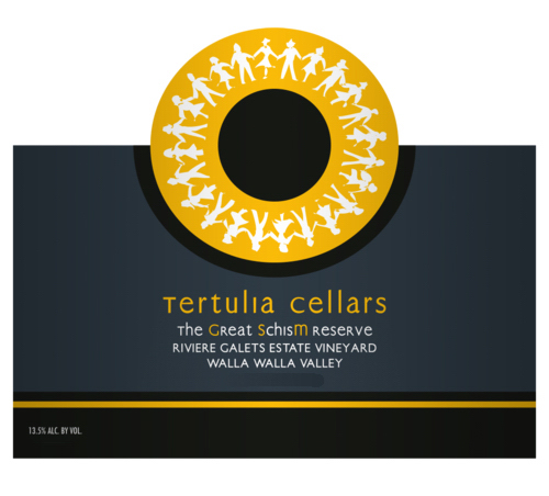 Tertulia Cellars GSM label