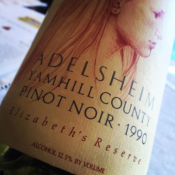 Adelsheim Vineyard 1990 Pinot Noir