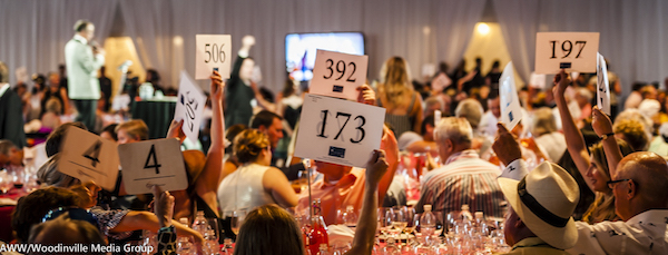 Scenes from this year's Auction of Washington Wines in Woodinville. (Photo courtesy of Auction of Washington Wines/Woodinville Media Group)