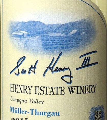 henry-estate-winery-müller-thurgau-2015-label